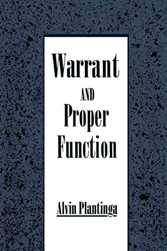 9780195078640: Warrant and Proper Function