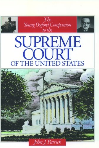9780195078770: The Young Oxford Companion to the Supreme Court of the United States (Young Oxford Companions)