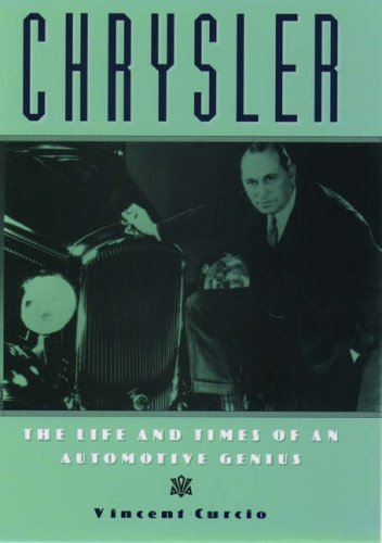 9780195078961: Chrysler: The Life and Times of an Automotive Genius