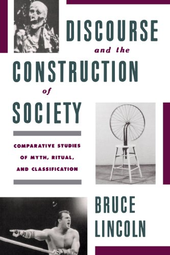 9780195079098: Discourse and the Construction of Society: Comparative Studies of Myth, Ritual, and Classification