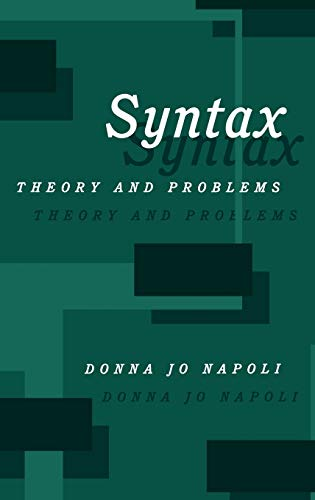 9780195079463: Syntax: Theory and Problems