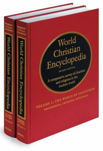 9780195079630: World Christian Encyclopedia: A Comparative Survey of Churches and Religions in the Modern World. Volumes I and II