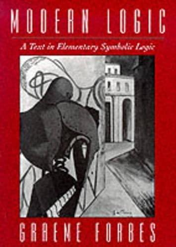 9780195080292: Modern Logic: A Text in Elementary Symbolic Logic