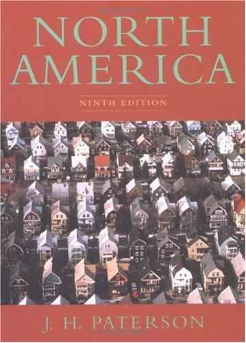 9780195080582: North America: A Geography of the United States and Canada