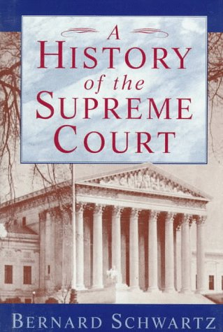 9780195080995: A History of the Supreme Court