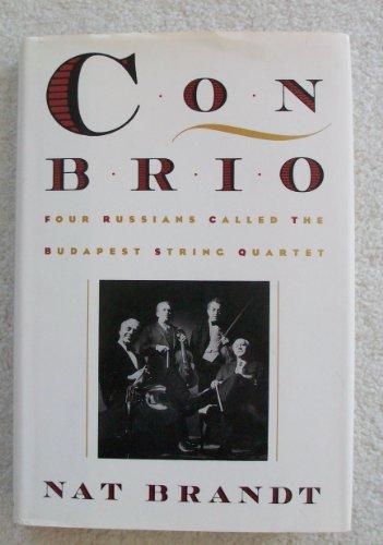 9780195081077: Con Brio: Four Russians Called the Budapest String Quartet