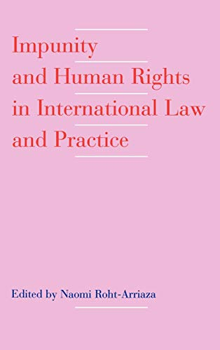 Impunity and Human Rights in International Law