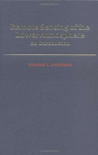 9780195081886: Remote Sensing of the Lower Atmosphere: An Introduction