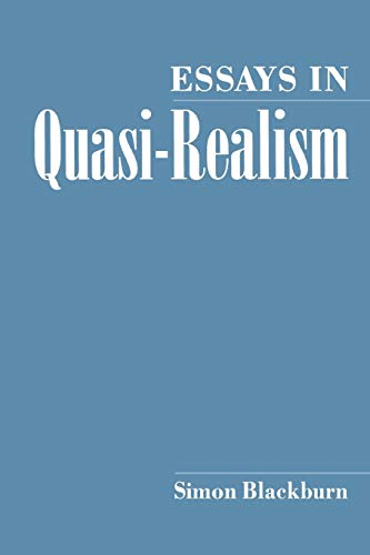 9780195082241: Essays in Quasi-Realism