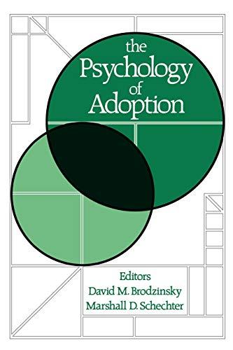 9780195082739: The Psychology of Adoption
