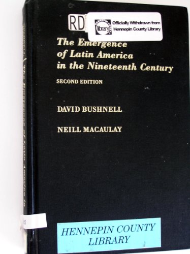 9780195084016: The Emergence of Latin America in the Nineteenth Century