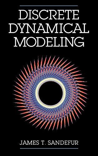 9780195084382: Discrete Dynamical Modeling