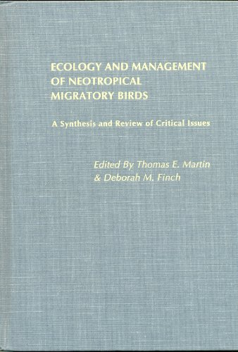 9780195084405: Ecology and Management of Neotropical Migratory Birds: A Synthesis and Review of Critical Issues
