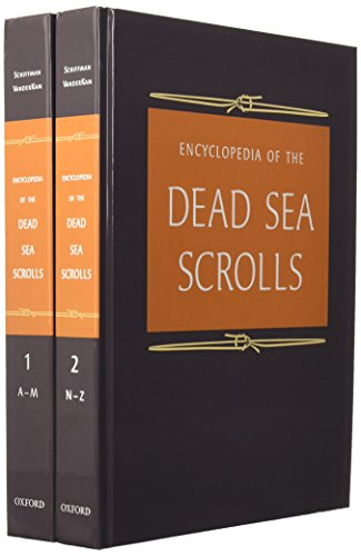 9780195084504: Encyclopedia of the Dead Sea Scrolls: 2 Volume set