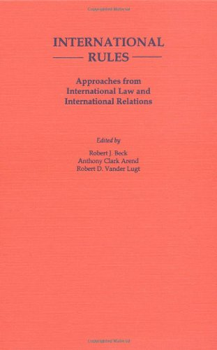9780195085396: International Rules: Approaches from International Law and International Relations