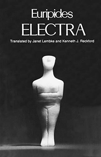 9780195085761: Electra (Greek Tragedy in New Translations)