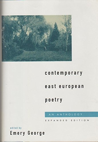 9780195086355: Contemporary East European Poetry: An Anthology