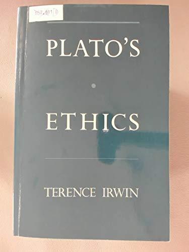 9780195086447: Plato's Ethics