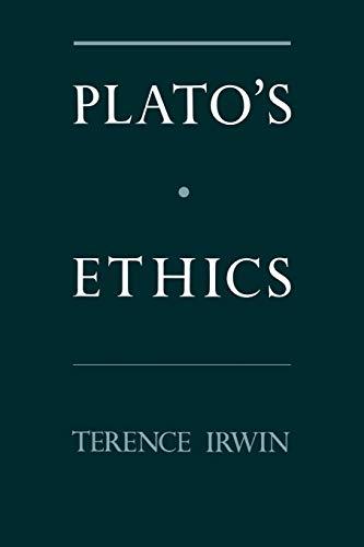 9780195086454: Plato's Ethics