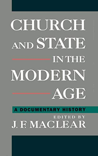 9780195086812: Church and State in the Modern Age: A Documentary History