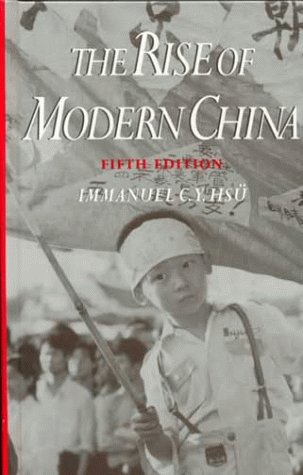 9780195087208: The Rise of Modern China [5th Edition]