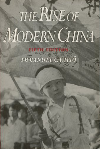 9780195087215: The Rise of Modern China