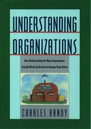 9780195087321: Understanding Organizations