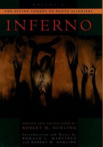 9780195087444: The Divine Comedy of Dante Alighieri: Volume 1: Inferno (Divine Comedy of Dante Alighieri Reprint Series): Inferno Vol 1