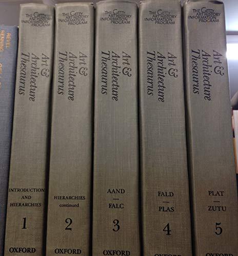 Art & Architecture Thesaurus: Getty Trust Publications