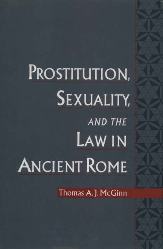 9780195087857: Prostitution, Sexuality, and the Law in Ancient Rome