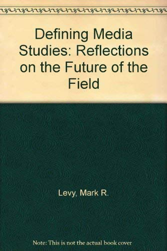 9780195087871: Defining Media Studies: Reflections on the Future of the Field
