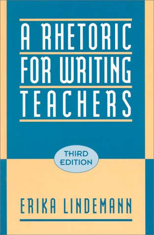 9780195088441: A Rhetoric for Writing Teachers
