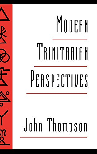 9780195088984: Modern Trinitarian Perspectives
