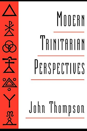 9780195088991: Modern Trinitarian Perspectives