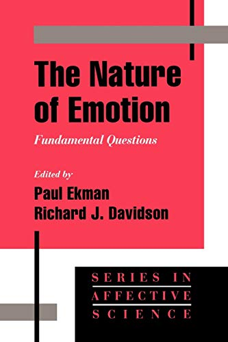 9780195089448: The Nature of Emotion: Fundamental Questions (Series in Affective Science)