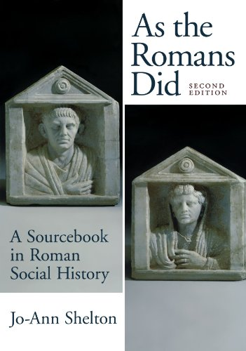 9780195089745: As the Romans Did: A Sourcebook in Roman Social History