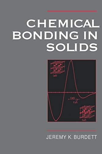 9780195089929: Chemical Bonding in Solids (Topics in Inorganic Chemistry)