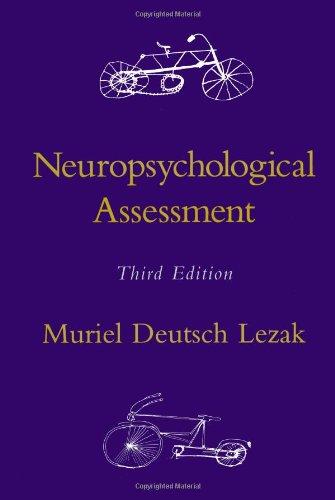 9780195090314: Neuropsychological Assessment