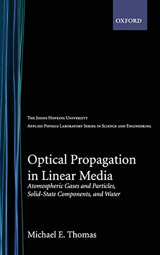 Optical Propagation in Linear Media: Atmospheric Gases: Michael E. Thomas