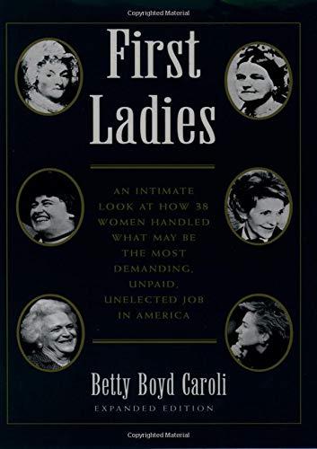 9780195092288: First Ladies