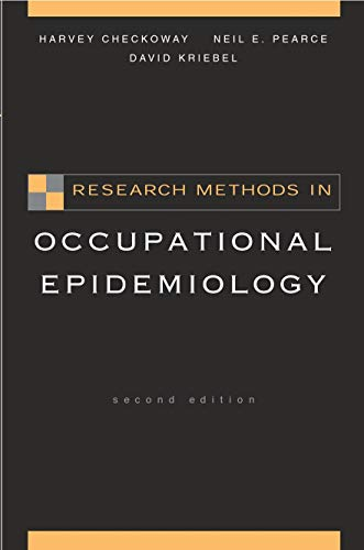 9780195092424: Research Methods in Occupational Epidemiology (Monographs in Epidemiology and Biostatistics)