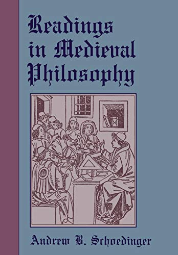 Readings in Medieval Philosophy.: SCHOEDINGER, A. B.,