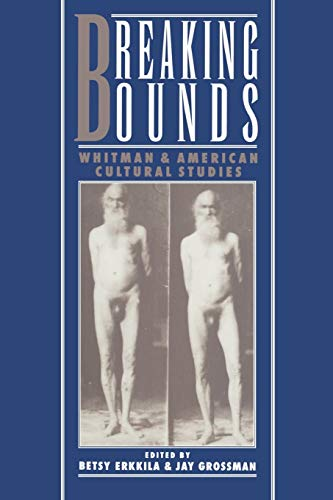 Breaking Bounds: Whitman and American Cultural Studies