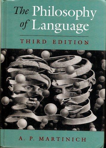 9780195093681: The Philosophy of Language