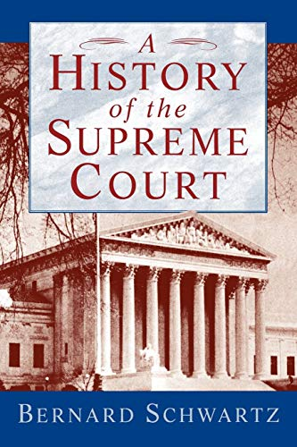 9780195093872: A History of the Supreme Court