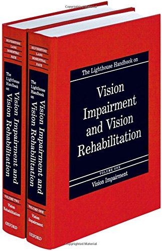 9780195094893: The Lighthouse Handbook on Vision Impairment and Vision Rehabilitation (2-Volume Set + Free CD-ROM with Return of Enclosed Card)