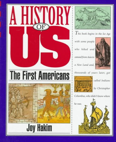 9780195095067: A History of US: Book 1: The First Americans