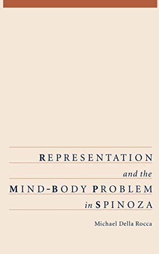 9780195095623: Representation and the Mind-Body Problem in Spinoza