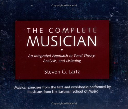 9780195095692: The Complete Musician 8-CD Boxed Set: An Integrated Approach to Tonal Theory, Analysis, and Listening