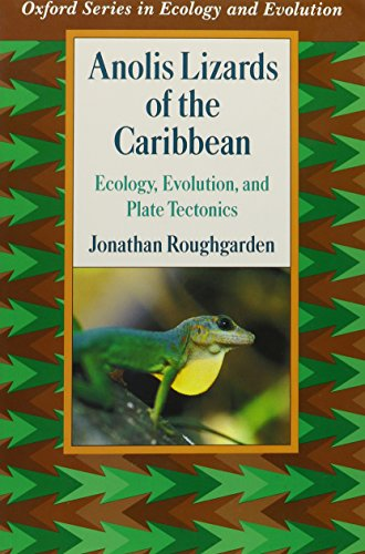 9780195096057: Anolis Lizards of the Caribbean: Ecology, Evolution, and Plate Tectonics (Oxford Series in Ecology and Evolution)